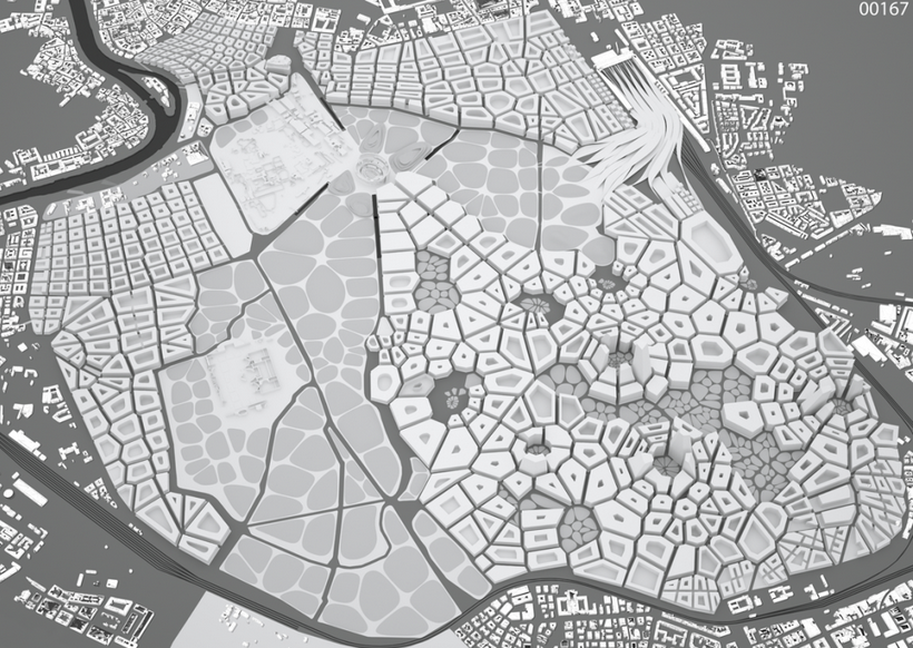 Camilla will also use Voronoi to generate city race tracks.